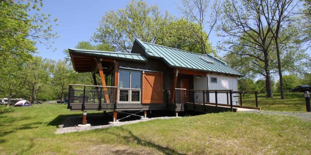 Sampson State Park Cottages